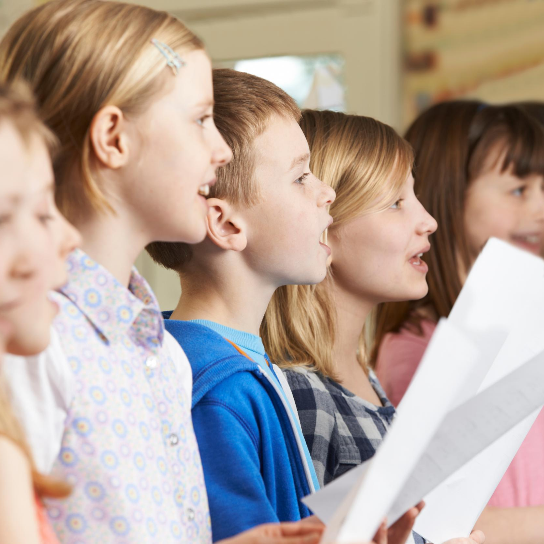 English speaking Choir for children